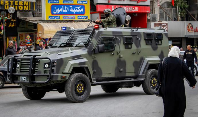 כוח הביטחון הלאומי הפלסטיני, שכם