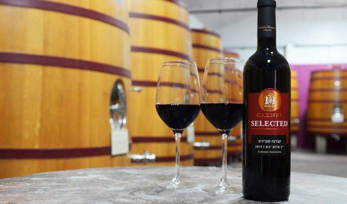 יין אדום יקבי כרמל