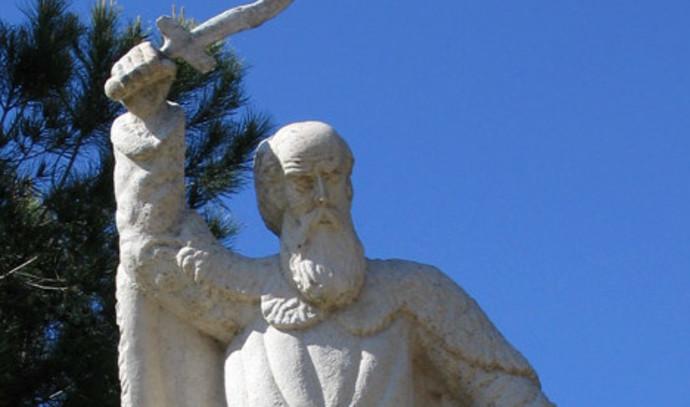 פסל אליהו הנביא בקרן הכרמל