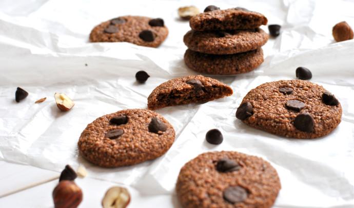 עוגיות שוקולד אגוזים לוז