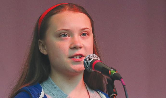 גרטה טונברי בת ה-16 נבחרה לאשת השנה של TIME 525660