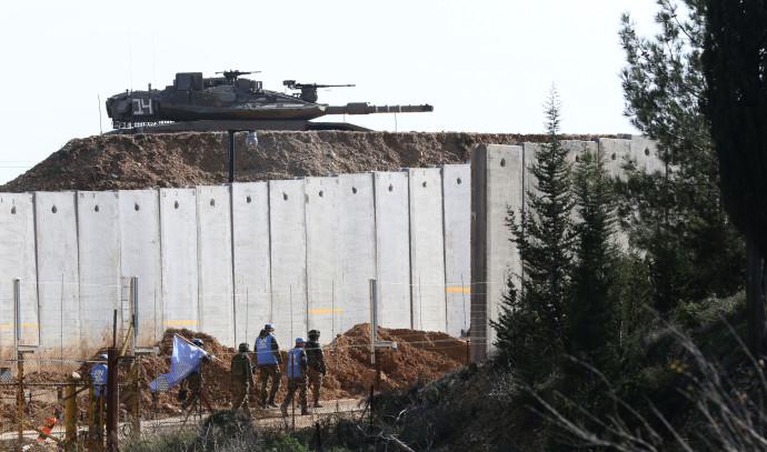 """כוח יוניפי""""ל בגבול ישראל לבנון"""