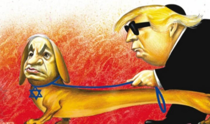 קריקטורה שפורסמה בניו יורק טיימס