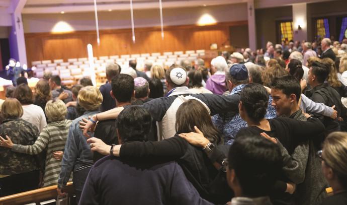 טקס לזכר הנרצחת במתקפת הירי בסן דייגו
