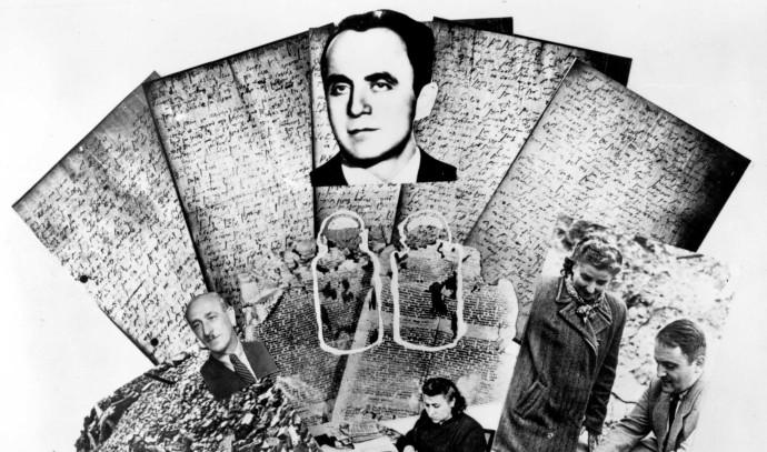 """""""כתבו את המצבות שלהם"""", מסמכים מתקופת השואה"""