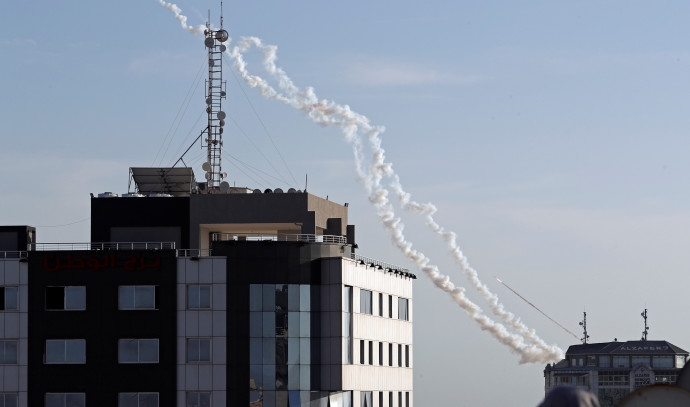ירי רקטות לעבר שטח ישראל