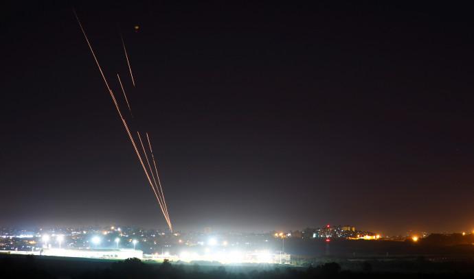 ירי רקטות מרצועת עזה לעבר שטח ישראל