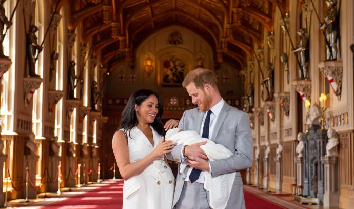 הנסיך הארי, מייגן מרקל והתינוק