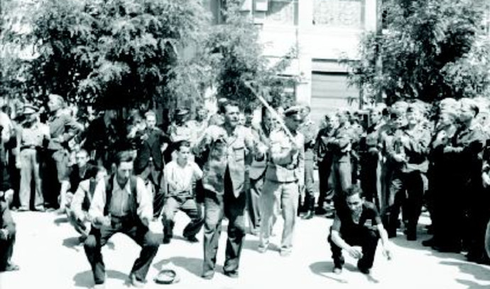 התעללות ביהודי סלוניקי