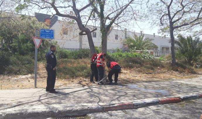 דליפת גז במפרץ חיפה