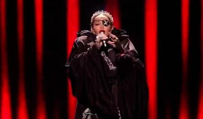 מדונה מופיעה באירוויזיון