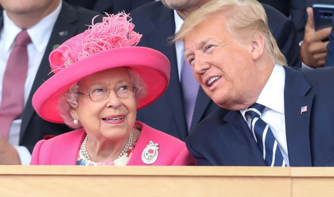 דונלד טראמפ, המלכה אליזבת