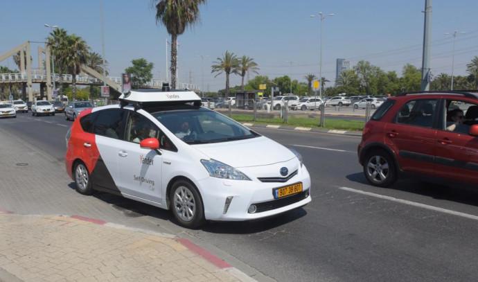 הרכב האוטונומי של Yandex
