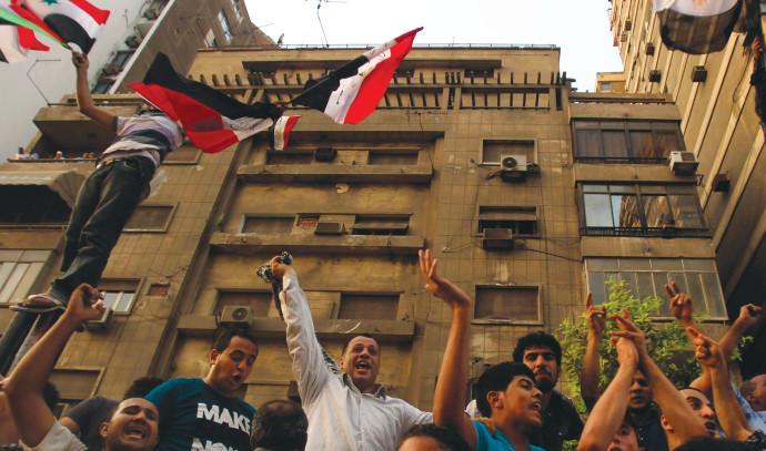 מהומות בשגרירות ישראל בקהיר