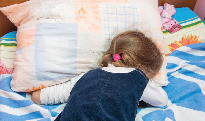ילדה בוכה, אילוסטרציה (למצולמת אין קשר לנאמר בכתבה)