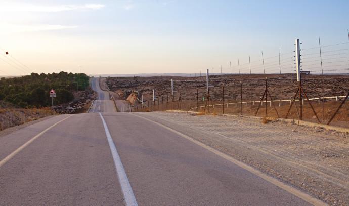 כביש 316 בדרום הר חברון