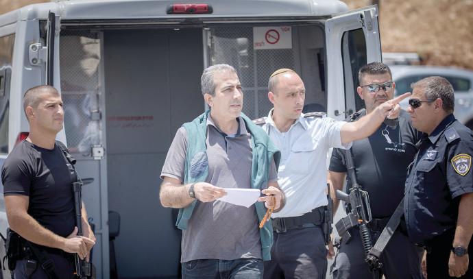 מחמוד קטוסה משוחרר ממעצר. צילום: פלאש 90