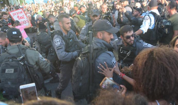 מחאה בתל אביב