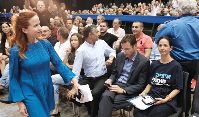 שמולי ושפיר בכינוס מפלגת העבודה
