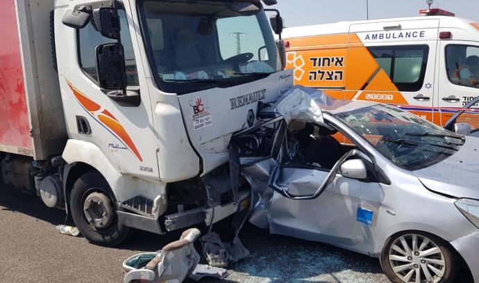 תאונת דרכים בכביש 7