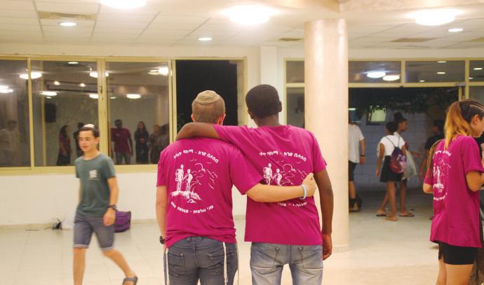 פעילות חברתית לבני נוער בטלמון