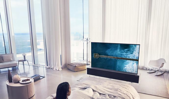 טלוויזיה חכמה של LG