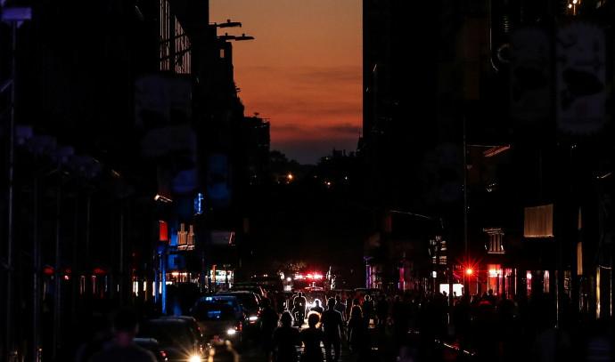 הפסקת חשמל במנהטן