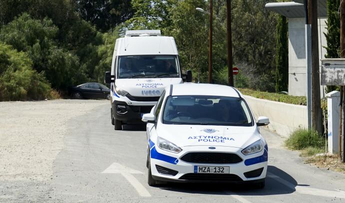 משטרת קפריסין. צילום: AFP