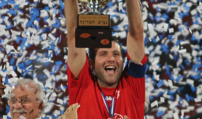 שמעון גרשון בגמר גביע המדינה