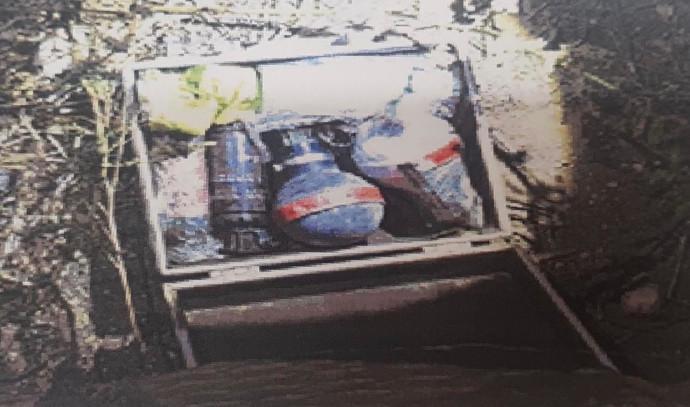 הרימונים שנמצאו ברשות הנאשם מרהט