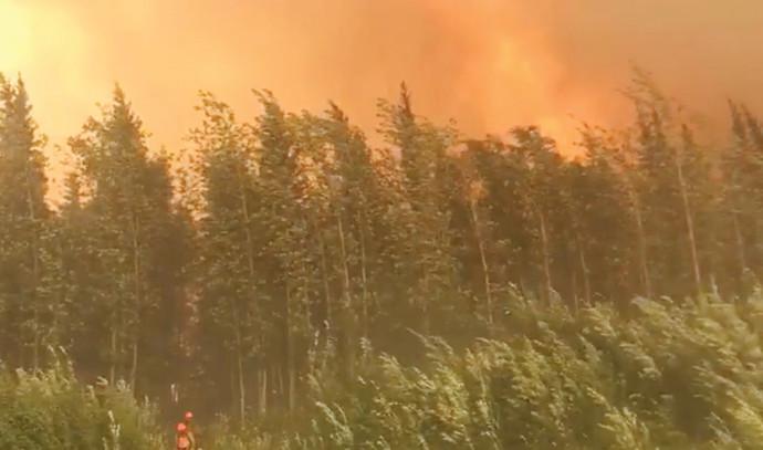 שריפה באלסקה