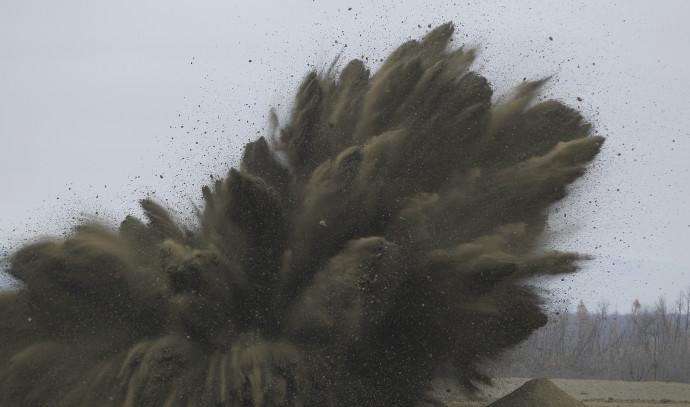 """פיצוץ מבוקר של צבא ארה""""ב"""