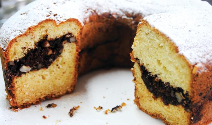 עוגת אגוזים וקינמון