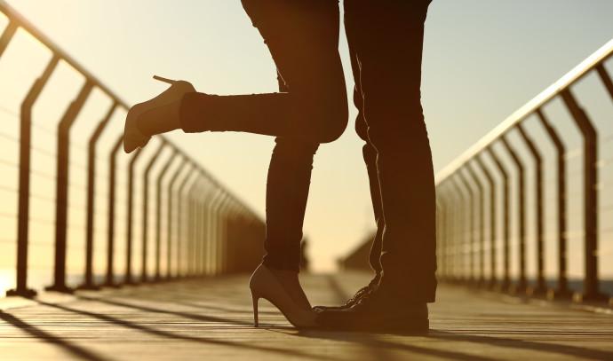זוג על גשר, אילוסטרציה