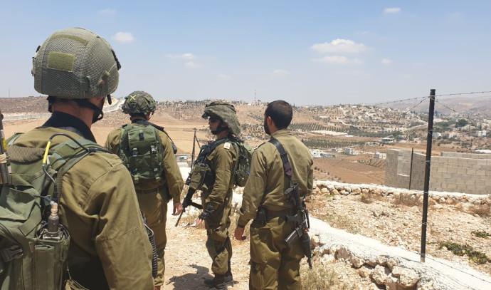 """לוחמי צה""""ל במרחב יהודה ושומרון"""