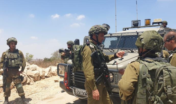 """סריקות לוחמי צה""""ל במרחב יהודה ושומרון"""