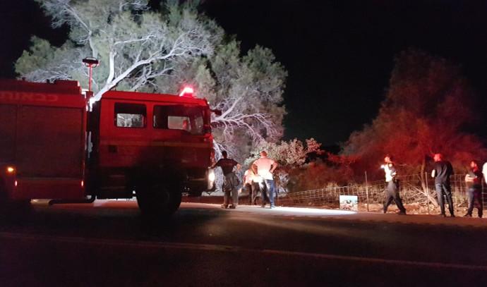 תאונת הדרכים בכביש 293