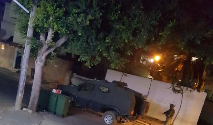 כוחות צבאיים בשכונת ג'וואריש ברמלה