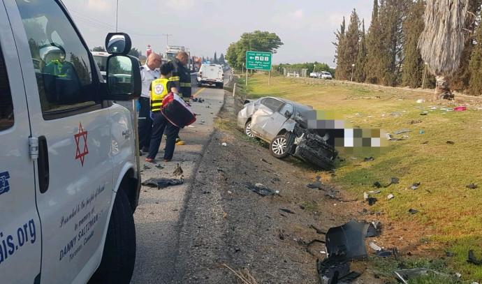 תאונת דרכים בעמק הירדן