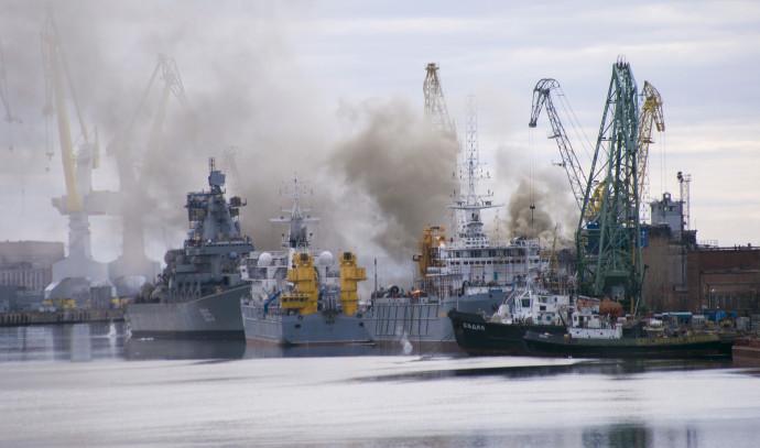 נמל בסברודבינסק, רוסיה