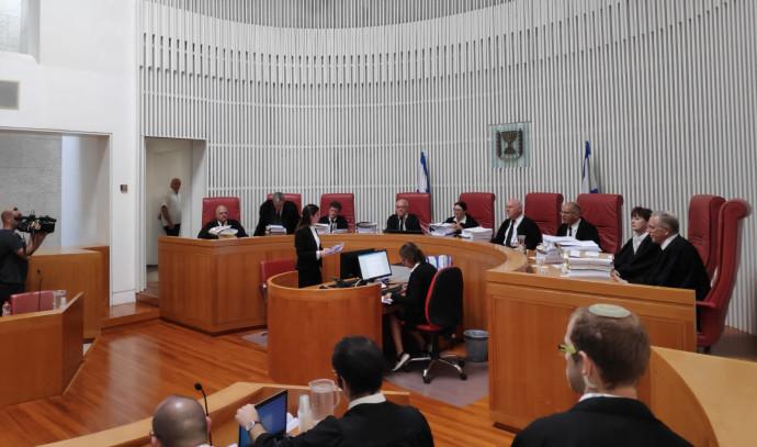דיון בבית המשפט העליון בדבר פסילת עוצמה יהודית