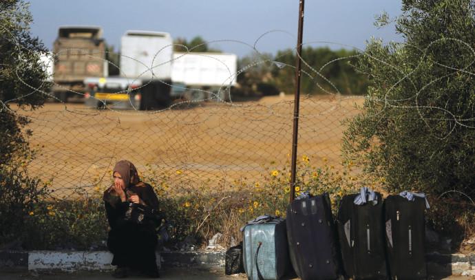 פלסטינית במעבר רפיח, ארכיון (למצולמת אין קשר לנאמר בכתבה)
