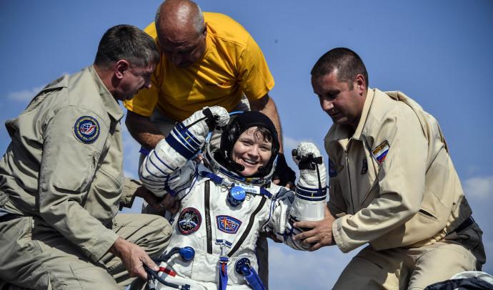 האסטרונאוטית אן מק'ליין