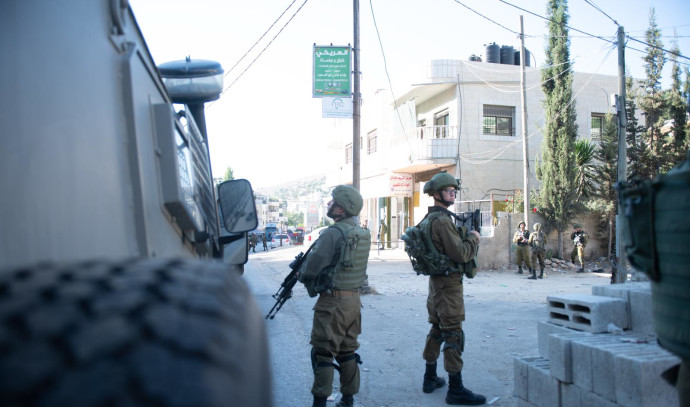 """סריקות כוחות צה""""ל בכפר עין עריכ"""