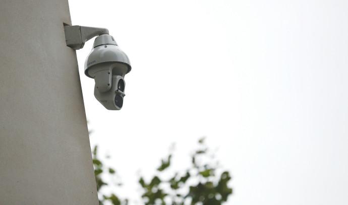 מצלמת אבטחה בלונדון