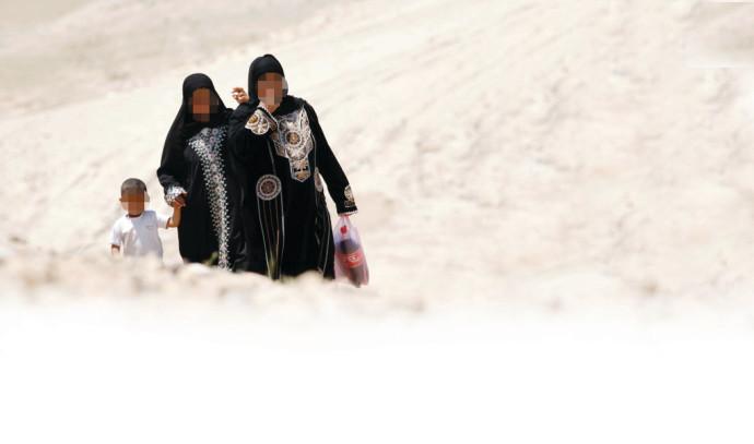 נשים בדואיות בנגב, ארכיון (למצולמות אין קשר לנאמר בכתבה)