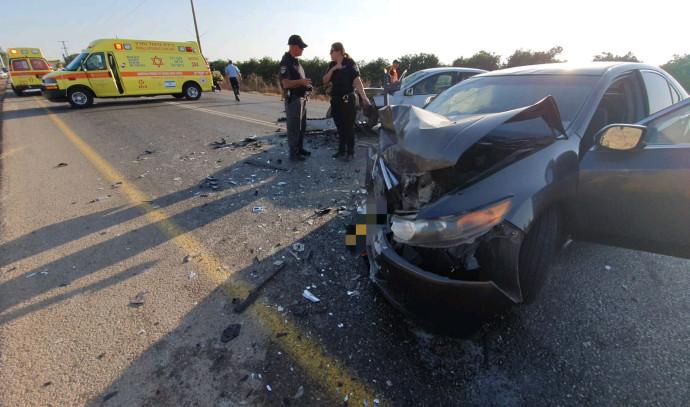 תאונת דרכים סמוך לזרזיר