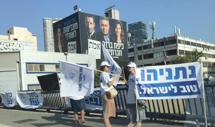 הכנות אחרונת ליום הבחירות בתל אביב