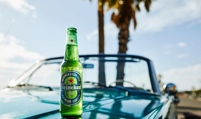 בירה היינקן ללא אלכוהול לנהג תורן