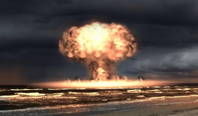 פיצוץ גרעיני (אילוסטרציה)